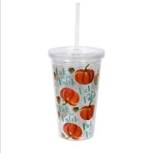 New PICK of the PATCH Pumpkins Lidded Tumbler